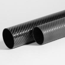 Cường độ cao chống ăn mòn Carbon bền ống thủy tinh