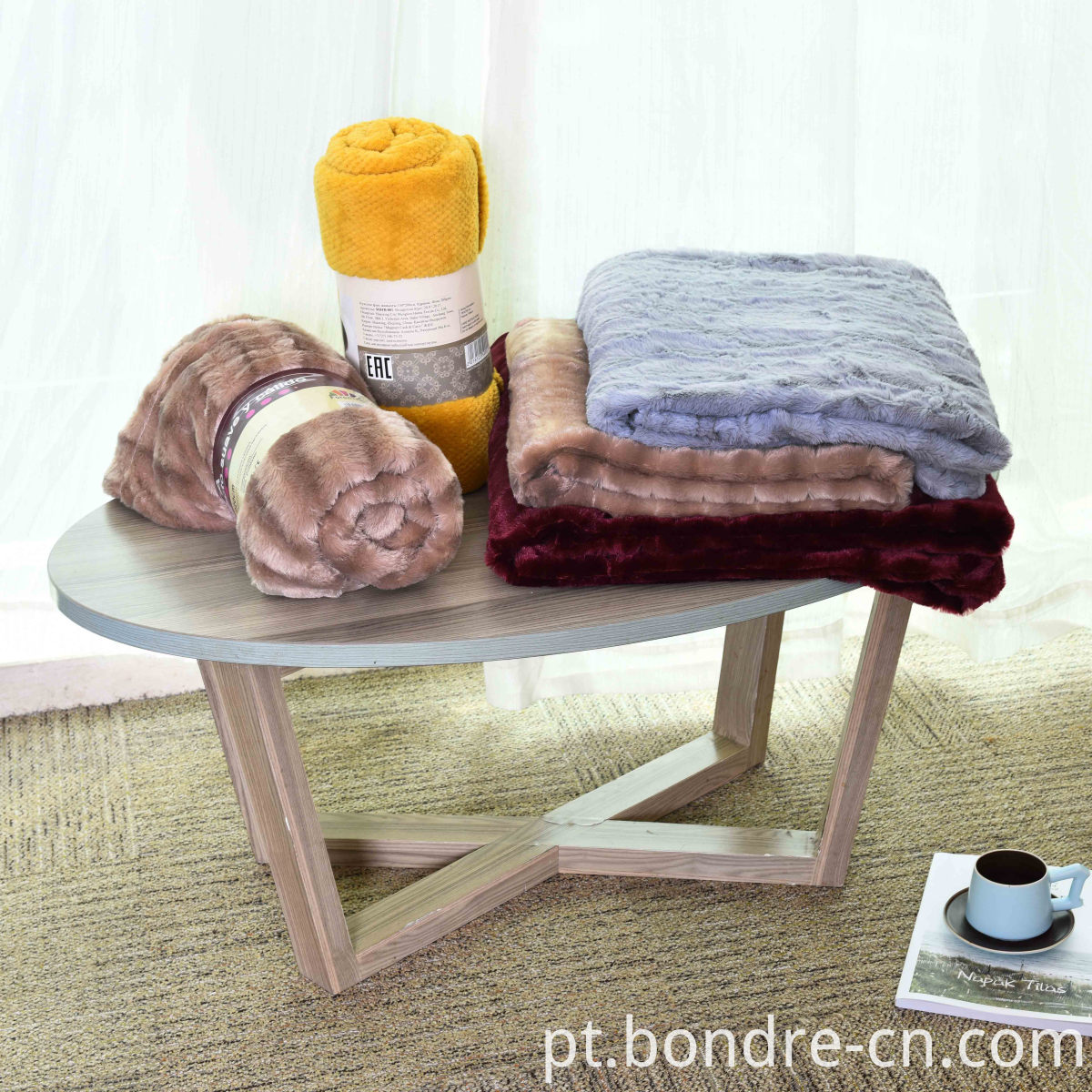PV fleece double layers blanket (6)