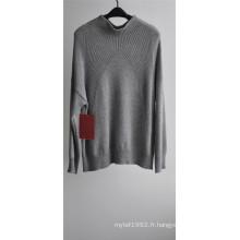 Sweat à encolure en tricot à motifs hiver féminin
