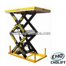 2T Double Scissor high lift Stationary table