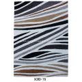 Microfiber Shagy Flooring Rug with design