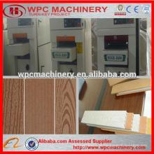 Wpc escova de madeira lixadeira wpc máquina de escovar