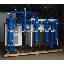 Refrigerated air dryer for compressor system