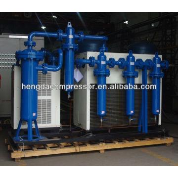 Secador de ar refrigerado para sistema de compressor