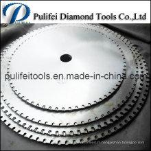 Lame de scie circulaire pour l'utilisation de granit sur la découpeuse de diamant
