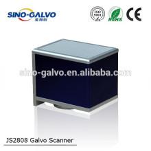 JS2808 sino galvo head for 20mm beam aperture 20W50W100W fiber laser marking