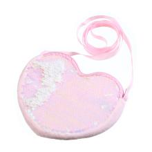 Wholesale Cheap Cute Lovely Crossbody Sequin Kids Coins Purse Mini Bags