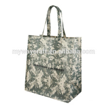 2015 hot sale green style laminated non woven bag