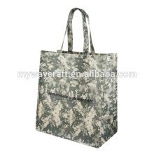 2015 saco de tecido não tecido laminado de estilo verde
