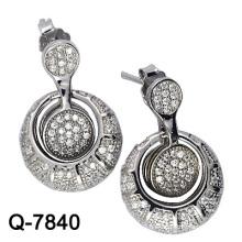 Neueste Styles Ohrringe 925 Silber Schmuck (Q-7840 JPG)