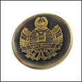 Antique Gold Plated Cobre Metal Coin (GZHY-JZ-013)