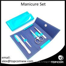 Премиальные качественные инструменты для ногтей в кожаном чехле для Amazon