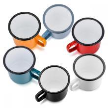 Tasse à café émaillée pour camping et plein air