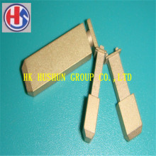 Hot Sale UK Type Pin Inserts, Latão com niquelar (HS-UK-001)