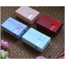 Purple Color Jewelry Box, Long Chain Necklace Paper Decoration Box