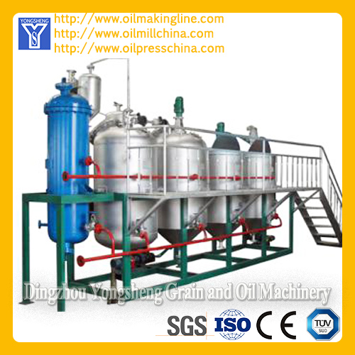 Small Edible Oil Refinery Machine