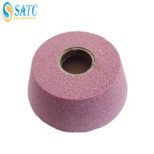 SATC pedra diamante rebolo / diamante rebolos com eixo de alta qualidade e bom preço