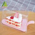 Round Plastic Blister Cake PET Container