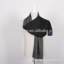 men's cashmere reversible scarves