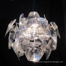 Modern luxury crystal chandeliers luminaire lighting decoration pendant lamp for bedroom