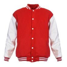 Männer Womens Plain Varsity Baseball Jacke Coat College Casual Pullover Sport Tops