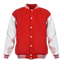 Hommes Femmes Plaine Varsity Baseball Jacket Coat College Casual Sweater Sports Tops