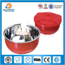colorful safe stainless steel safe baby bowls