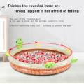Pataugeoire gonflable pour enfants tortue avec arroseur