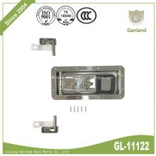 304 SS Recessed Rear Refrigerator Truck Door Lock