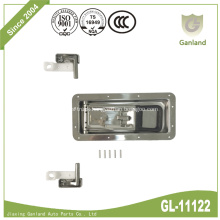 304 SS Recessed Rear Refrigerator Truck Door Lock