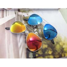 Круглая рамка, милые, модные спортивные солнцезащитные очки для детей (M01053)