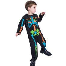 Costume de Cosplay pour les personnages fantômes de garçon squelette de garçons