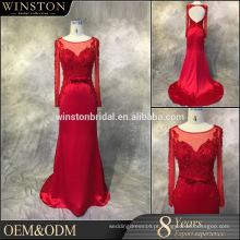 Vestidos de vestidos de noite feitos sob medida feitos sob medida de alta qualidade