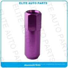 Tuercas de aluminio para automóviles