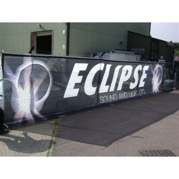 Custom Full Color Printing Vinyl Flex Banner