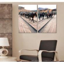 Pintura de casa impresa digital personalizada