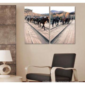 Pintura de casa impressa digital feita sob encomenda