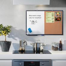Movable hooks Combination Magnetic Board for Kitchen Home