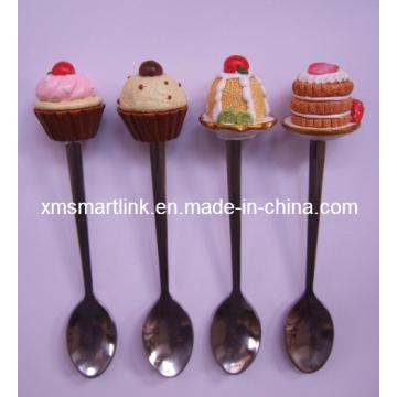 Kitchen Stainless Steel Souvenir Mini Spoon