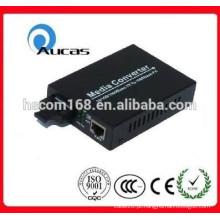 10 / 100M, 20KM, conversão dos meios, oferta do china do conversor do Ethernet da fibra
