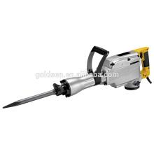 65mm 1520w Portable mini martillo de demolición de hormigón Rotary Hammer Drill Machine Pesado de energía eléctrica de mano Rock Breaker