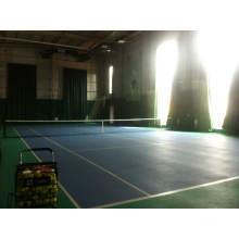 Professionelle Indoor PVC / Gummi Tennis Bodenbelag