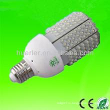 Высокое качество горячего надувательства надувательства 201 LEDs 12-24V 12V солнечный e27 e26 10-11w 10w вело свет corn светлый 120lm / w