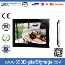 19'' Wall Mounting Advertising Digital Display Systems with HD LCD Screen