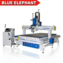 Multi Heads Three Spindles ele 1530 Cnc Router Machines Furniture Equipments with Rotary