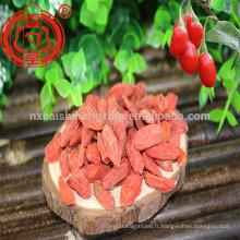 2017 nouvelle récolte super goji berry super nourriture goji de ningxia zhongning