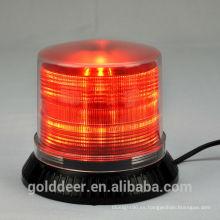9 ~ 30V rojo Led luces de Faro de emergencia estroboscópicas