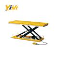 three phase single scissor stationary platform 2t electric
