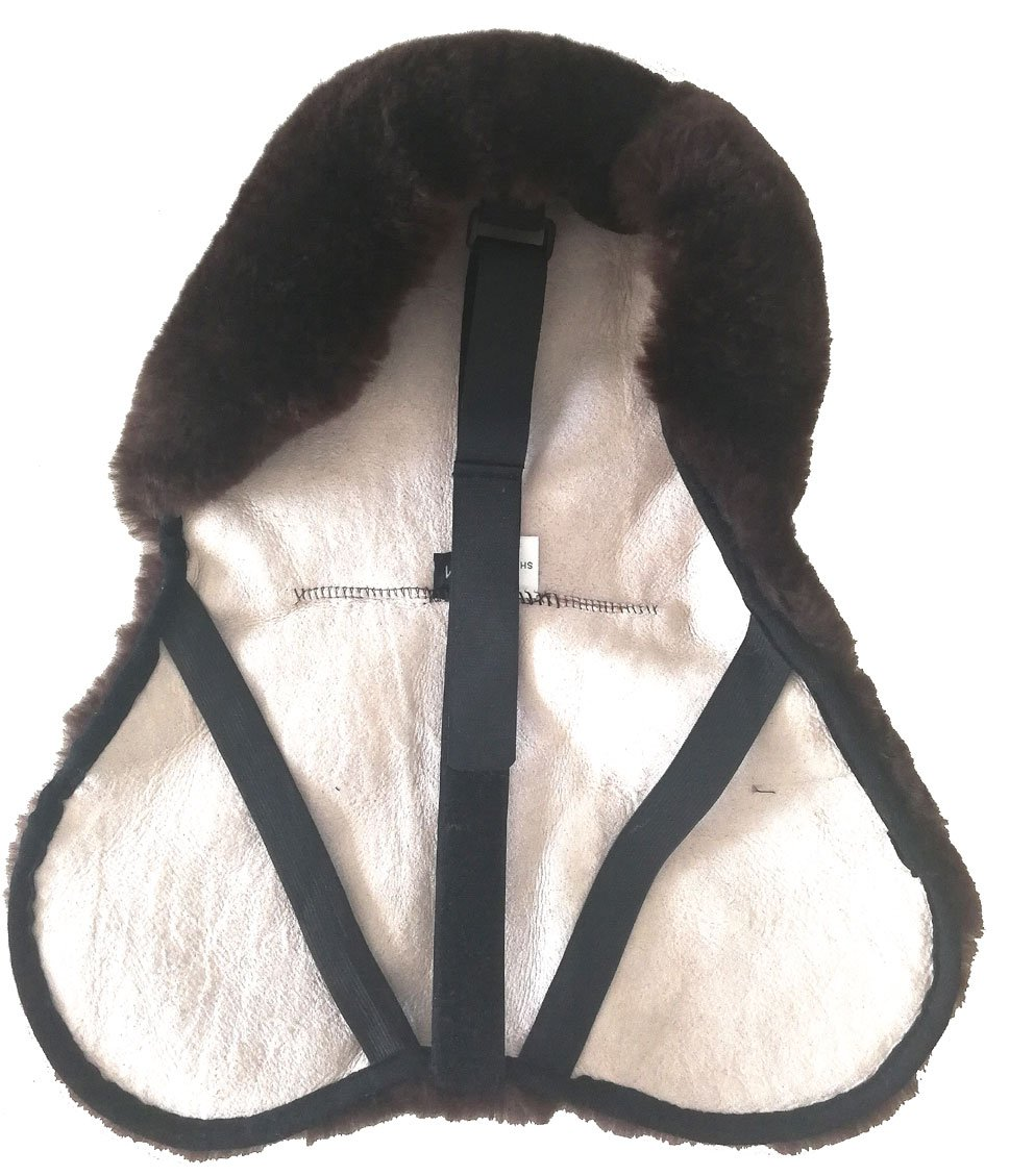 Soft Sheepskin Saddle Cover