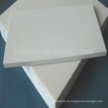 PP Blatt / Plastik Polypropylen weiß / graues Blatt